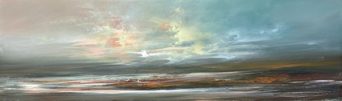 Sky Panorama III by Philip Raskin -  sized 39x12 inches. Available from Whitewall Galleries